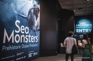 นิทรรศการปีศาจแห่งท้องทะเล Sea Monsters: Prehistoric Ocean Predators