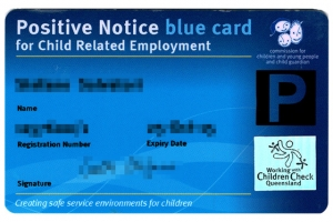 Blue Card by Queensland Government