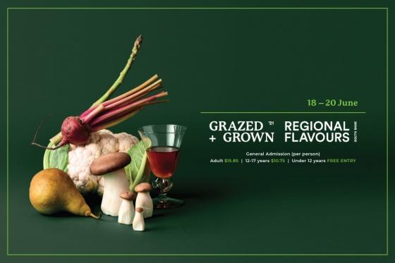 Grazed + Grown, Regional Flavours 2021 เทศกาลสำหรับคนรักอาหาร, 18-20 มิ.ย.